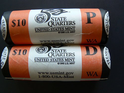 2007 P Washington State Quarter