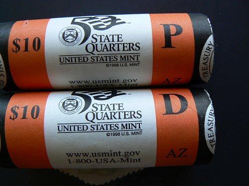 2008 D Arizona State Quarter