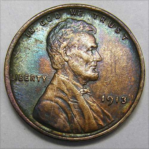 1913 P Lincoln Wheat Cent #1