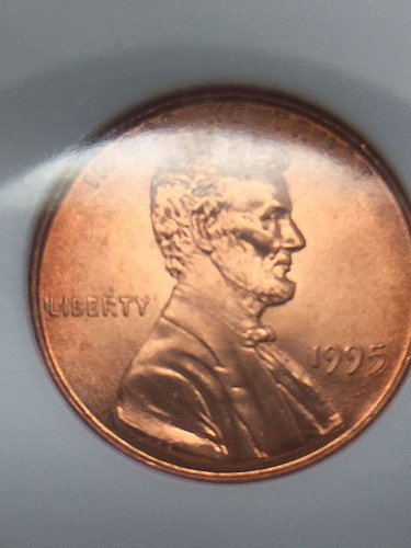 1995 1C Lincoln Cent Double Die Penny NGC MS68RD RED One Cent DDO SUPERB GEM BU