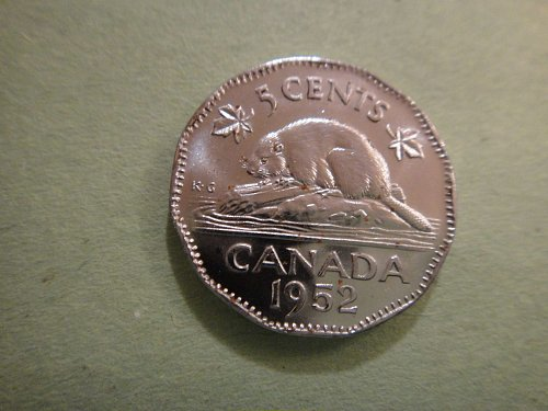 CANADA Nickel 1952 MS-65 (GEM) Fantastic Luster and No Spots!