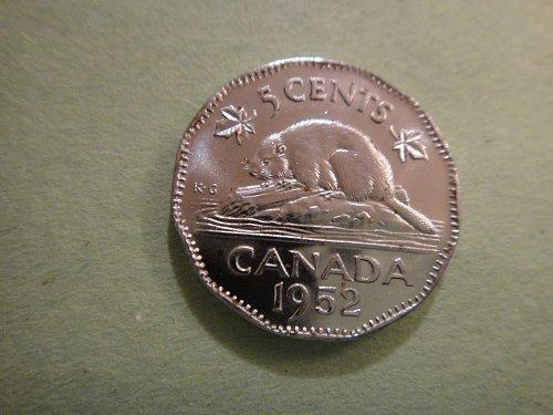 CANADA Nickel 1952 MS-65 (GEM) Fantastic Luster and No Spots!