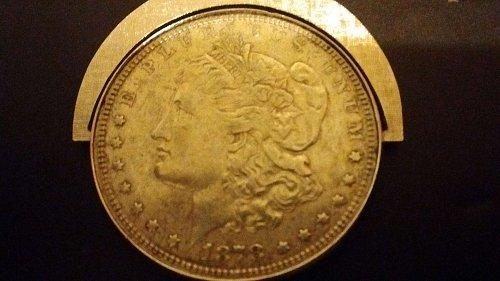 1878 Morgan Silver Dollar *Philadelphia mint* AU-55