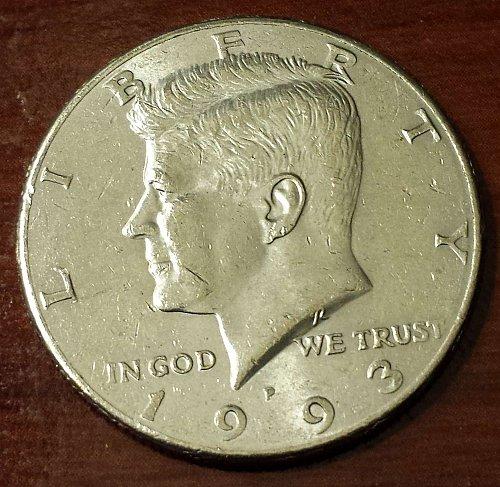 1993-P Kennedy Half Dollar (5626)
