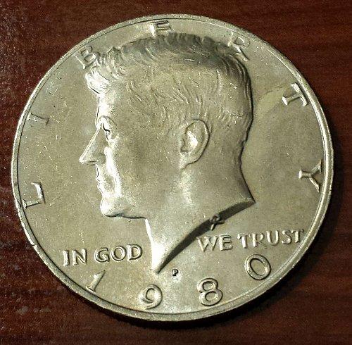 1980-P Kennedy Half Dollar (5627)
