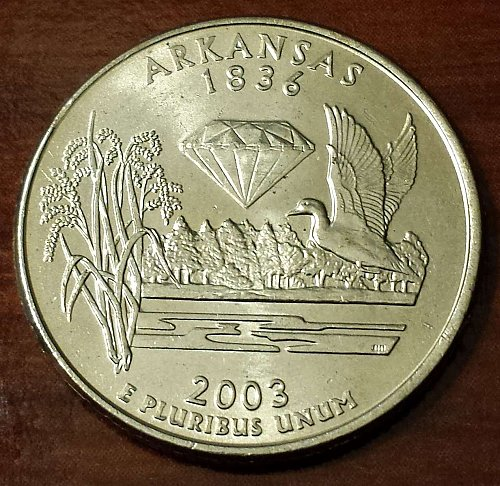 2003-P Arkansas State Quarter (5629)