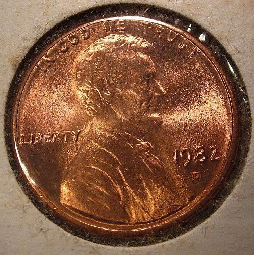1982 D Zinc Large Date Lincoln Cent –Nice Penny