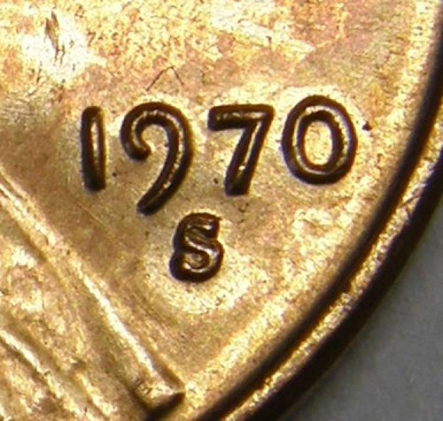 1970 S Lincoln Memorial Cent #3  RPM-001  TOP 100