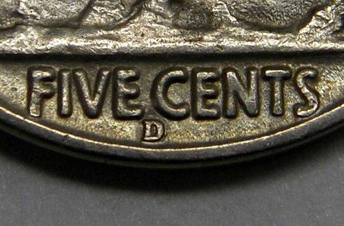 1937 D Buffalo Nickel #3  RPM-001