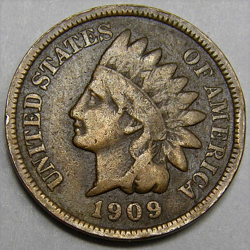1909 P Indian Head Cent #5