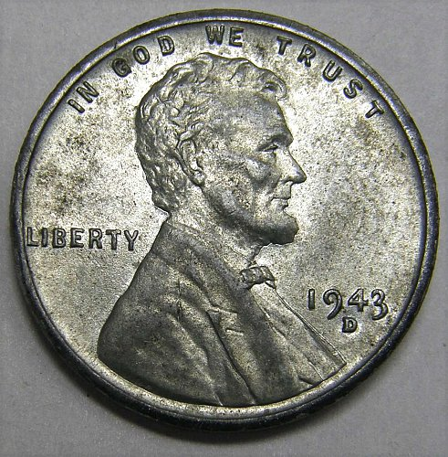 1943 D Lincoln Wheat Cent #4