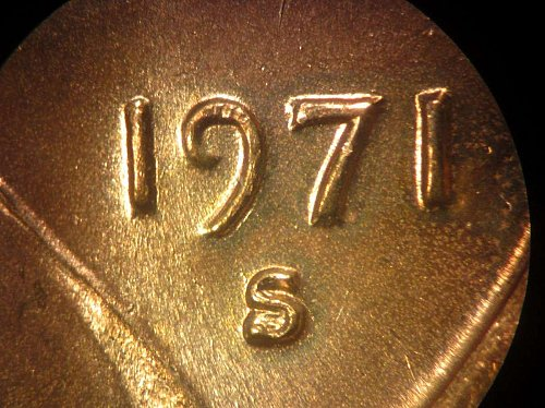 1971 S RPM Lincoln Cent –Nice Penny