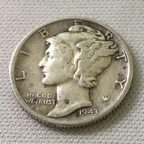 1943 D Mercury Dime