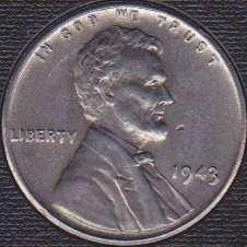 1943 P Lincoln Wheat Cent