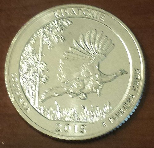 2015-S Kisatchie National Forest Quarter (5657)