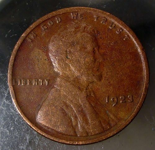 1923 Lincoln Wheat Cent Small Cents – Nice Penny