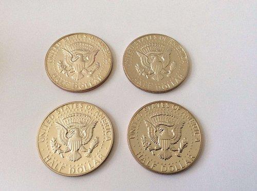 Four 1982 S Kennedy Half Dollars Proof