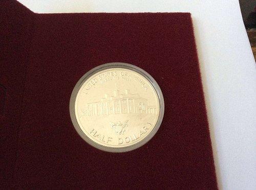1982 George Washington Proof 90% silver half dollar
