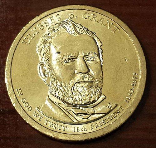 2011-P $1 Ulysses S. Grant  Presidential (Golden) Dollar (5669)