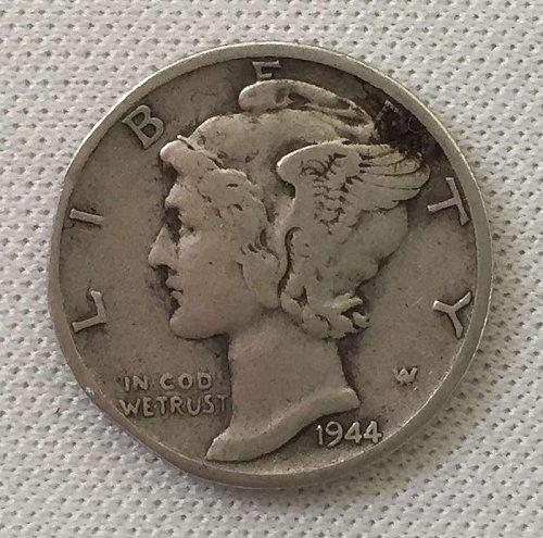 1944 S Mercury Dime