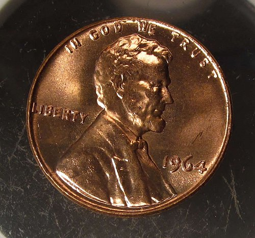 1964 Lincoln Cent Small Cents : Nice Penny