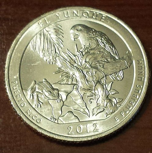 2012-P El Yunque National Forest America the Beautiful Quarter (5679)