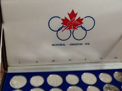 1973-1976 Uncirculated Canadian Olympic Coins