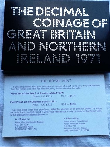 TheDecimal Coinage of Great Britain and Northern Ireland 1971