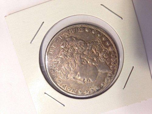 1890-CC Morgan Silver Dollar ~ Rare Key Date~ F/VF Condition, No Reserve