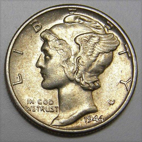 1944 P Mercury Dime #1