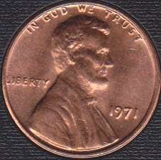 1971P Lincoln Memorial Cent