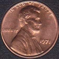 1971P Lincoln Memorial Cent