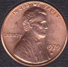 1979D Lincoln Memorial Cent
