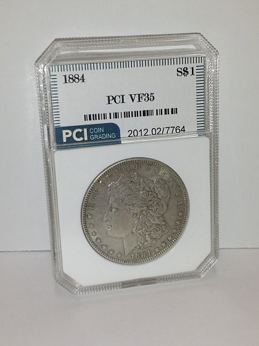 1884 Morgan Silver Dollar VF35