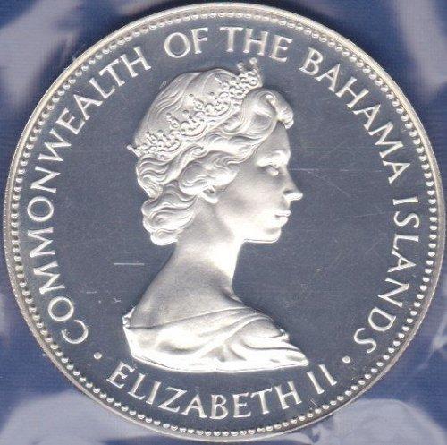 Bahamas 5 Dollars 1972