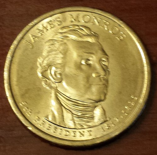 2008-P James Monroe Presidential Dollar (5721)