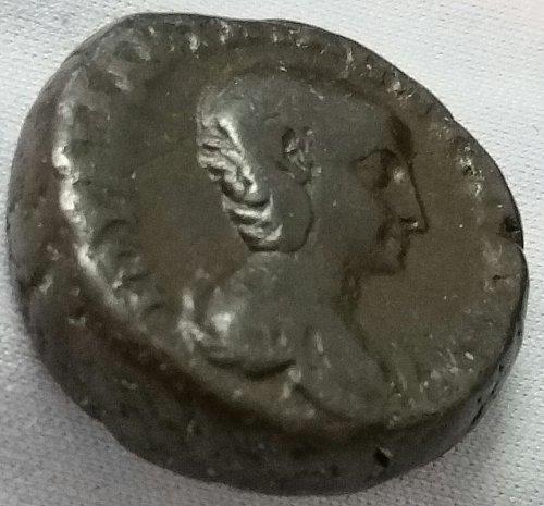 Aquila Severa, Second wife of Elagabalus ~ Billion Tetradrachm ~ 14.40 gm ~ VF