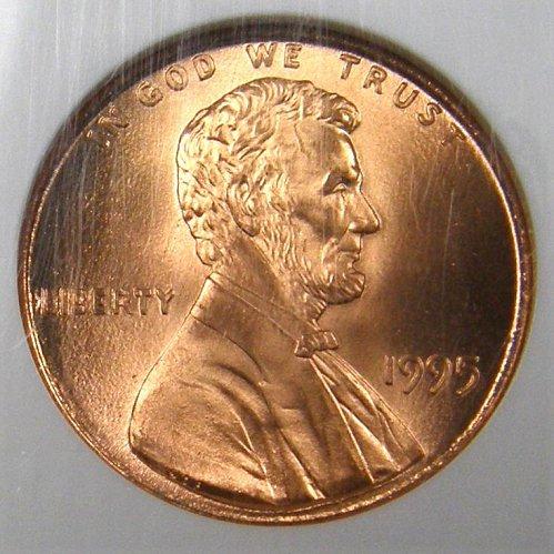 1995 P Lincoln Memorial Cent  DDO-001