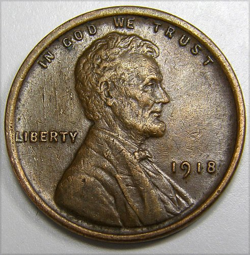 1918 P Lincoln Wheat Cent #2
