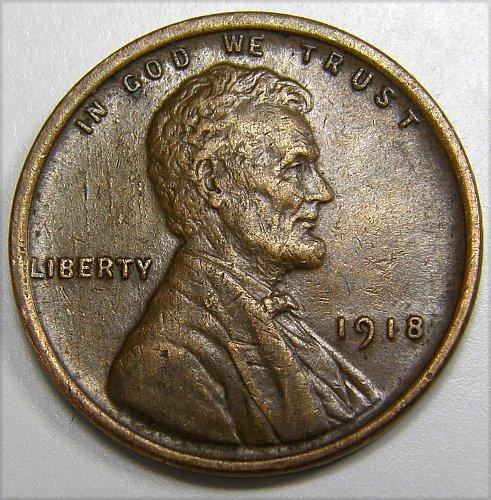 1918 P Lincoln Wheat Cent #2