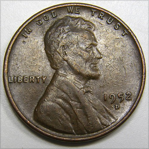 1952 D Lincoln Cent #3
