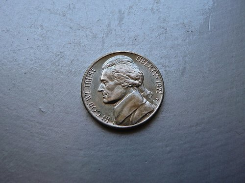 1971-D Jefferson Nickel