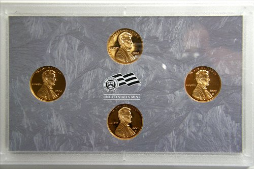 2009S Lincoln Presidential Set of 4 Proofs