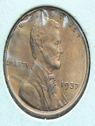 1937 P Lincoln Cent