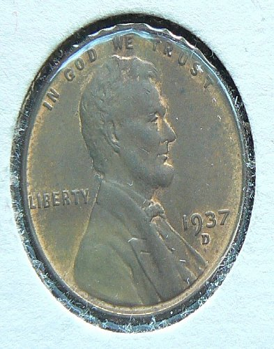 1937 D Lincoln Cent BU60