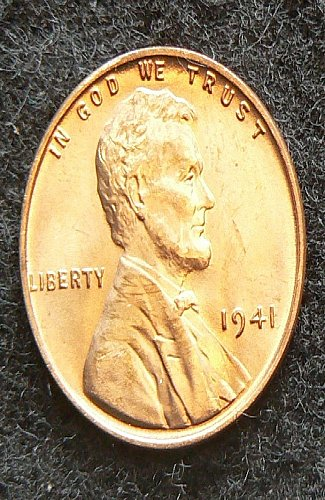 1941 P Lincoln Cent