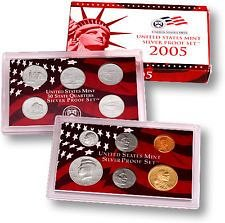 2005 S  SILVER PROOF SET