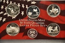 2004 S  SILVER PROOF STATE QUARTERS