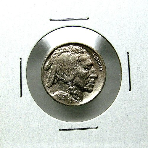 1913 D Buffalo Nickel Type 1 - AU