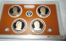 2014 S  PRESIDENTIAL GOLDEN DOLLAR PROOF SET